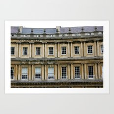 The Crescent, Bath Art Print