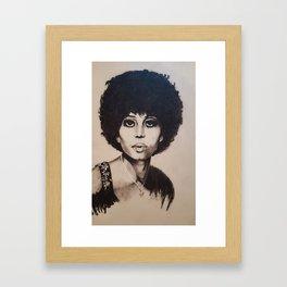 1960's Woman Framed Art Print
