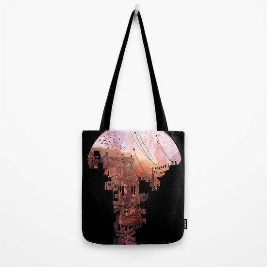 Secret Streets Tote Bag