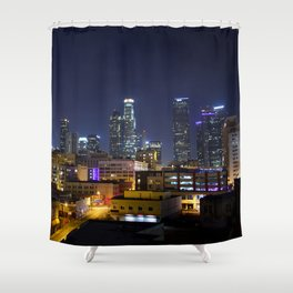 Photography in Downtown. Shower Curtain