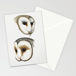 Masked Owl Stationery Cards
