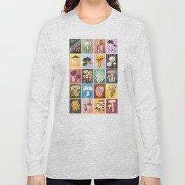 Mushroom Study Long Sleeve T-shirt