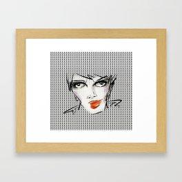 X/O Framed Art Print