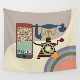 Telecom Chic Wall Tapestry