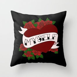 Self Valentine's Throw Pillow