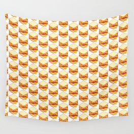 sandwiches pattern Wall Tapestry