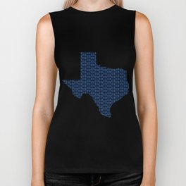 VOTE Texas! (Blue) Biker Tank