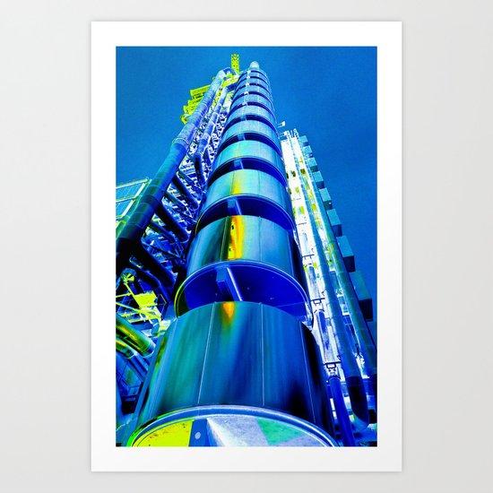 Lloyd's of London Building Art Art Print