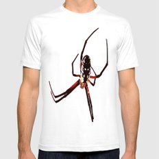 spider from mars White SMALL Mens Fitted Tee