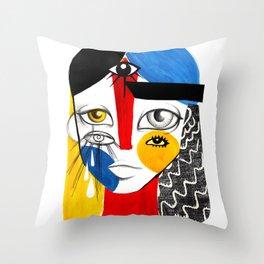 Multiplicidade 2 Throw Pillow