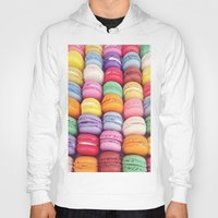 macarons Hoodies featuring Macarons by Sankakkei SS