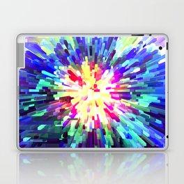 Sapphire White Burst Laptop & iPad Skin