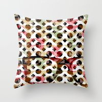 glasses Throw Pillows featuring Glasses by Mr and Mrs Quirynen