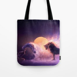 LEO from the Dancing Zodiac Tote Bag
