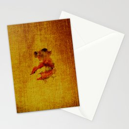 sexy lips Stationery Cards