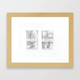 Watch and Wait Framed Art Print