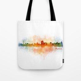 Rome city skyline HQ v03 Tote Bag