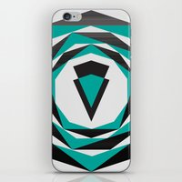 arya iPhone & iPod Skins featuring Decahedron Hexagon combined! by Hinal Arya