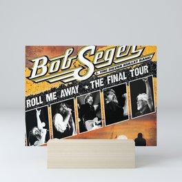 NEW BOB SEGER TOUR 2020 TERSENYUM#33 Mini Art Print