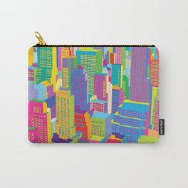 Cityscape windows Carry-All Pouch