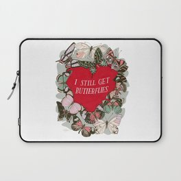 I still get butterflies Laptop Sleeve