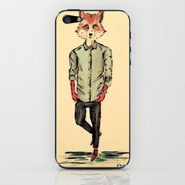 Foxy Fellow iPhone & iPod Skin