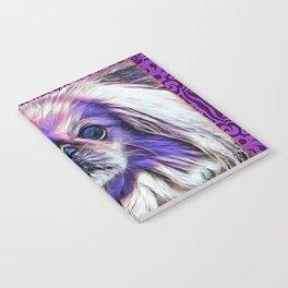 Peak in purple Notebook
