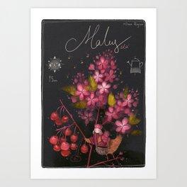 "Botanical illustration ""Malus ola"" Art Print"