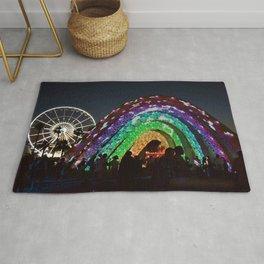 Rainbow Stars Rug