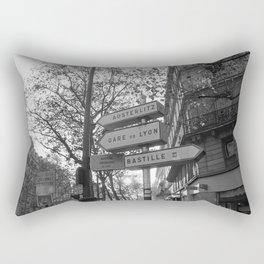 Gare De Lyon Rectangular Pillow