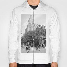 New York City (NYU) Architecture - Black & White Hoody