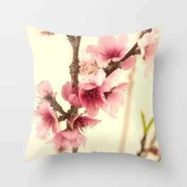 Blossom #2 Throw Pillow