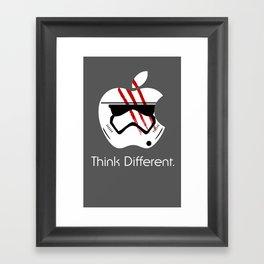 Think Different. Framed Art Print