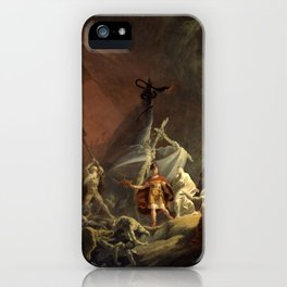 Aeneas and the Sibyl (circa 1800) iPhone Case