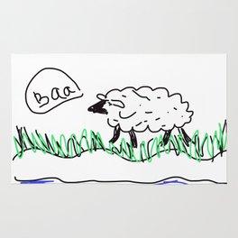 Baa Sheep Rug