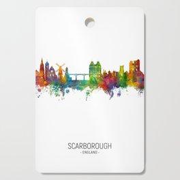 Scarborough England Skyline Cutting Board