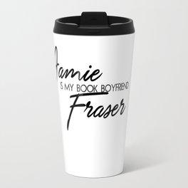 Jamie Fraser Book Boyfriend Travel Mug