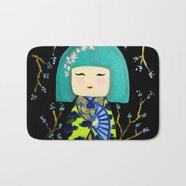 Green Kimi Doll Bath Mat
