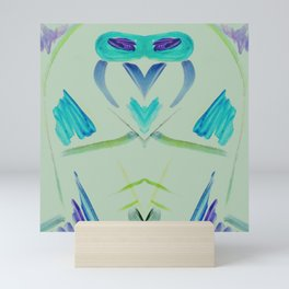 Owl Rocket Mini Art Print