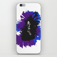 saxophone iPhone & iPod Skins featuring Saxophone Jive by Aaron Gonzalez