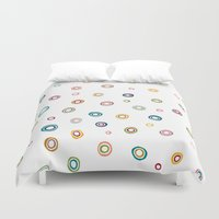 happiness Duvet Covers featuring Happiness by Shakkedbaram