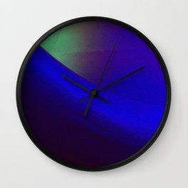 Indigo curve Wall Clock