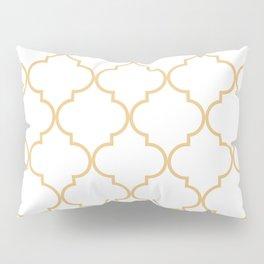 Quatrefoil - Latte Pillow Sham