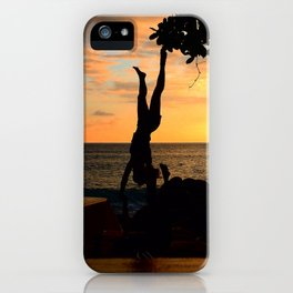 The Falling Tree iPhone Case