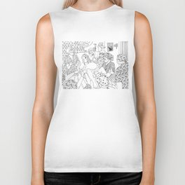 Coloring for Real Grownups. Delivery Room Biker Tank
