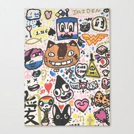 Pop Swag Canvas Print