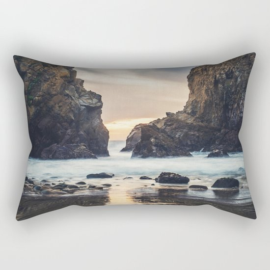 When Ocean Dreams Rectangular Pillow