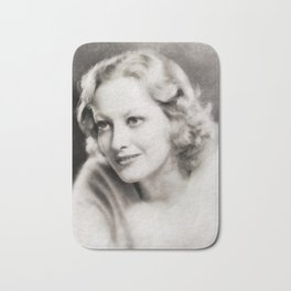 Joan Crawford, Vintage Actress Bath Mat