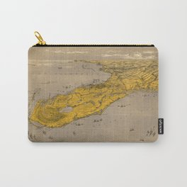 Vintage Map of Florida Carry-All Pouch