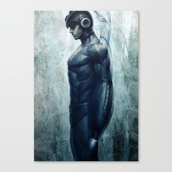 Mega Real Man Canvas Print